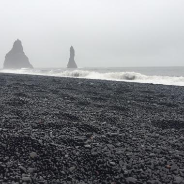 Reynisfjara: the Black Sand Beach.