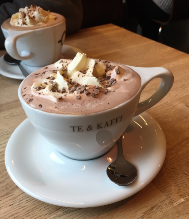 A very expensive, and delicious, hot choc.